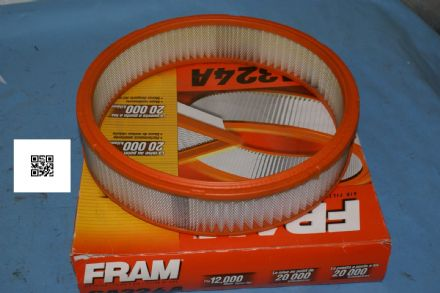 1968-1970 Mustang Fram Air Filter, CA324A, New In Box